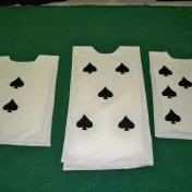 Alice in Wonderland Cards Costumes DIY Spades Queen of Hearts