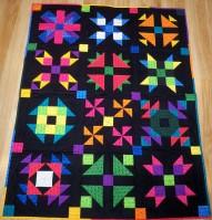 Block of the Month BOM Quilt shop program Razzle Dazzle
