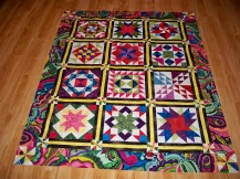 Block of the Month BOM Quilt shop program Arizona heritage fabric