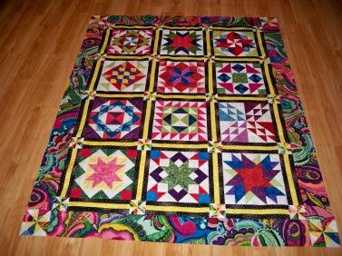 Block of the Month BOM Quilt shop program Arizona heritage fabric