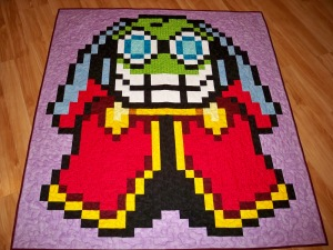Fawful Mario Luigi RPG Mario Brothers Bowser Nintendo Video Games Geek Quilt Quilts blanket