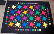"Midnight Bunny hop Strip quilt strippers 2.5"" strips Solids Kona Cottons"