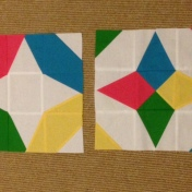 Vice Versa Block of the Month BOM Gen X Quilters GenXQuilters Quilt Blanket Star Tri Recs TriRecs Ruler