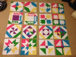 Vice Versa Block of the Month BOM Gen X Quilters GenXQuilters Quilt Blanket Star Flying Geese Pinwheel Bear Paw Churn Dash