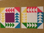Vice Versa Block of the Month BOM Gen X Quilters GenXQuilters Quilt Blanket Flying Geese