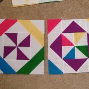 Vice Versa Block of the Month BOM Gen X Quilters GenXQuilters Quilt Blanket Pinwheel