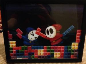 Katie Clark Shy Guy Tetris print