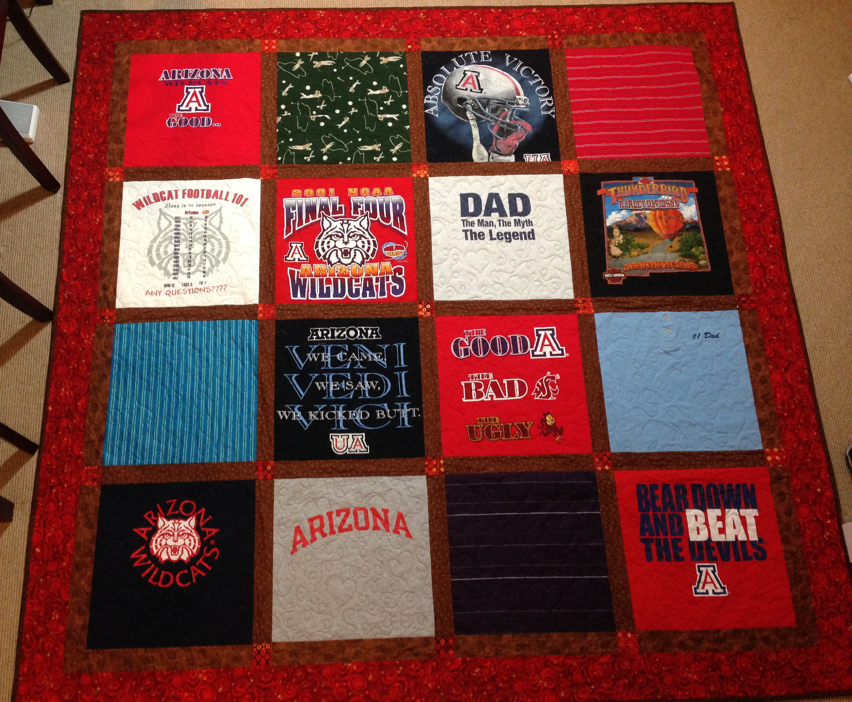 T-shirt quilt | Gorram Quilts : interfacing for t shirt quilts - Adamdwight.com