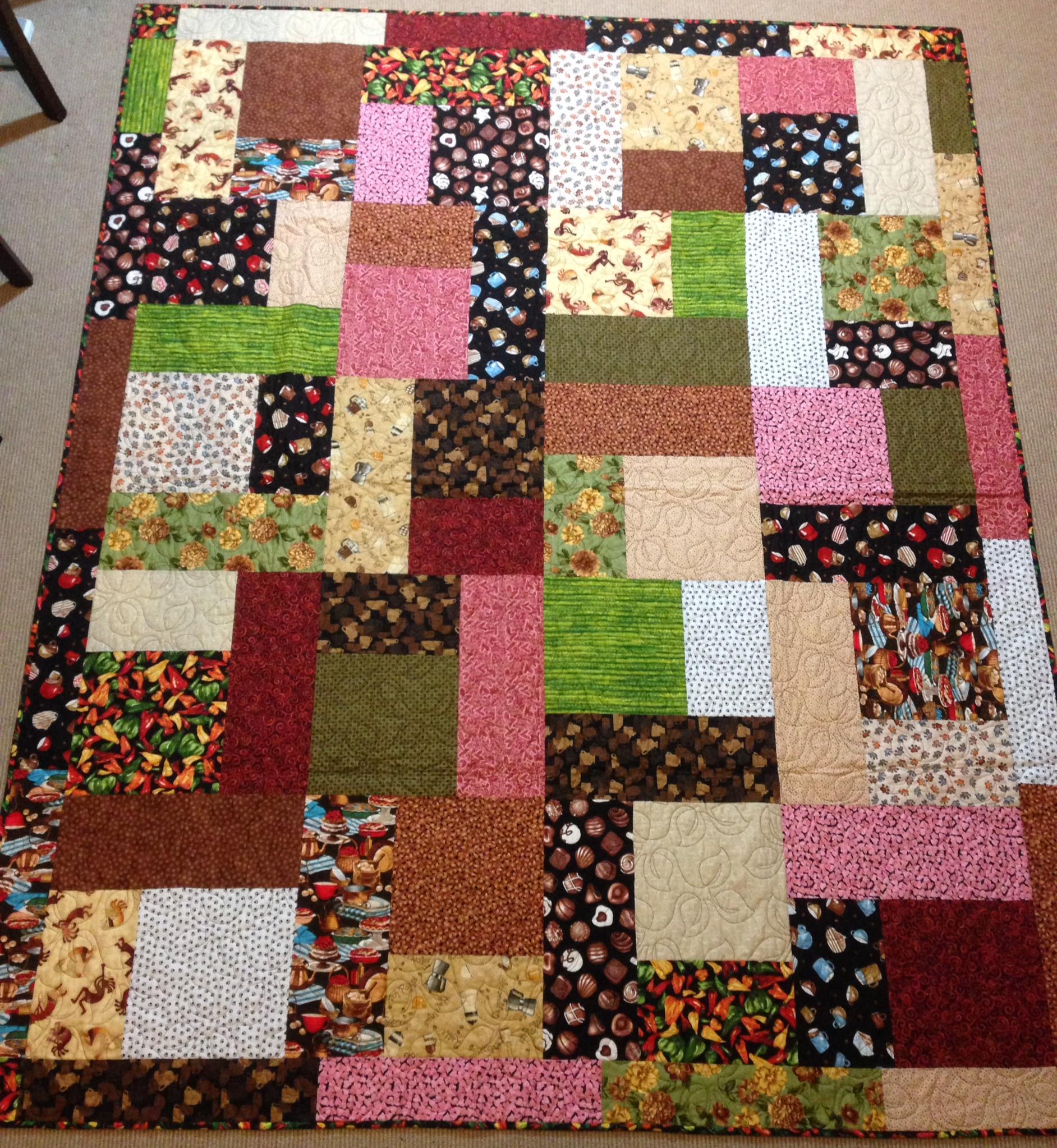 Monsters | Gorram Quilts : free turning twenty quilt pattern - Adamdwight.com