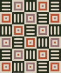 Quilt Design A Day QDAD Inkscape geometric bowls candles