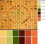 Quilt Design A Day QDAD Inkscape Game Board