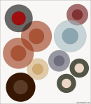Quilt Design A Day QDAD Inkscape buttons circles opaque