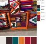 Quilt Design A Day QDAD Inkscape Native American Indian Navajo rugs patterns