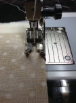 "Bernina Baby Lock Singer Pfaff Sewing foot 1/4"" foot Quarter inch foot #37 37 #57 57 walking foot strip piecing tips and tricks"