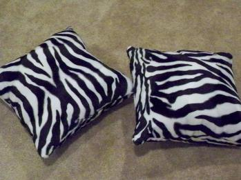 Zebra pillow pillows plush