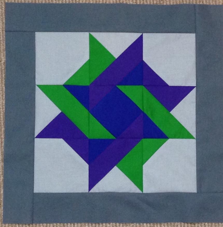 Star Gazing BOM Block of the Month Solid Solids Swan Amity Studios Bella Girls American Brand Solids Seattle WA Clothworks Kona Cottons Hoffman Solids blue green purple