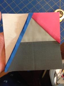 Star Gazing Binary Paper Piecing Fail