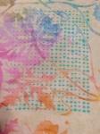 Black Mage pillow cases pillowcases sprite cross stitch batik Dritz washable marking pen blue