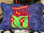 Black Mage pillow cases pillowcases pillow sham Andy Warhol batik sprite
