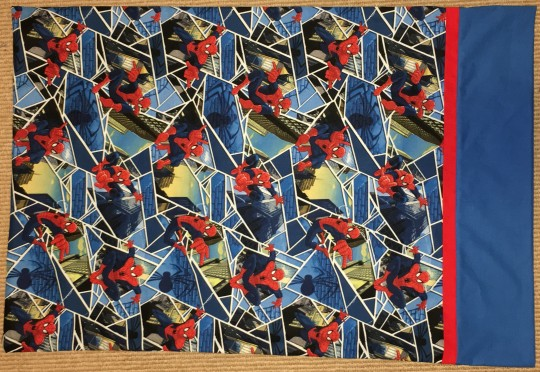 Spiderman Spider-man Spider Man pillow case pillow cases pillowcases Marvel blue red novelty Avengers